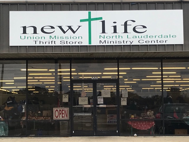 North Lauderdale Thrift Store Front